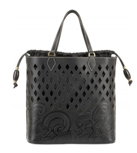 Maddalena Marconi Leather Cut Out Tote