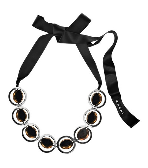 Marni Glass Hoop Necklace