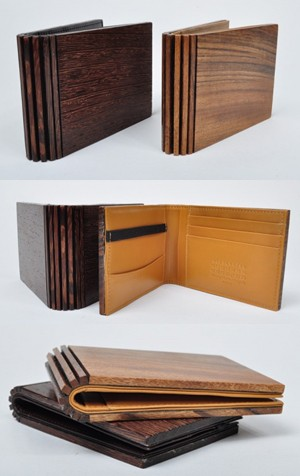 Maison Martin Margiela Wooden Wallets