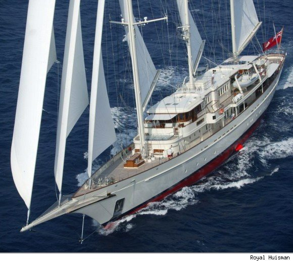 Netscape Billionaire $100 Million Superyacht