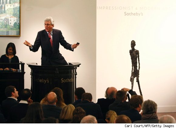 Giacometti Sculpture - $104 Million