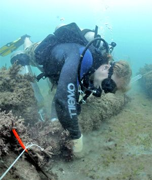 underwater archaeology captain morgan rum