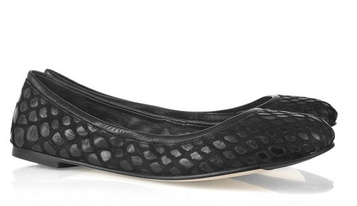 Camilla Skovgaard Embossed Leather Flats
