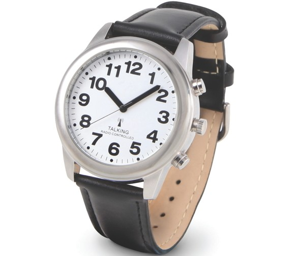hammacher schlemmer talking watch