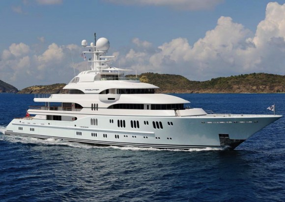 $5 million per month TV Megayacht