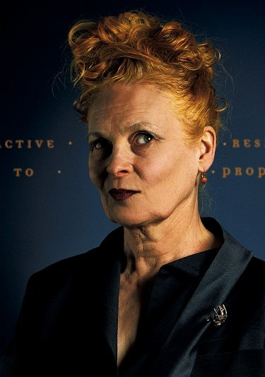 Designer Vivienne Westwood