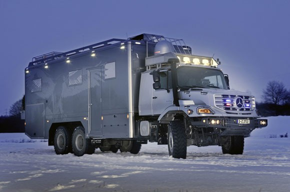 Mercedes-Benz Zetros 6x6 Luxury Expedition Vehicle
