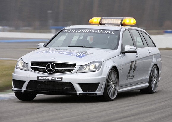 2012 Mercedes-Benz C63 AMG Estate F1 Medical Car