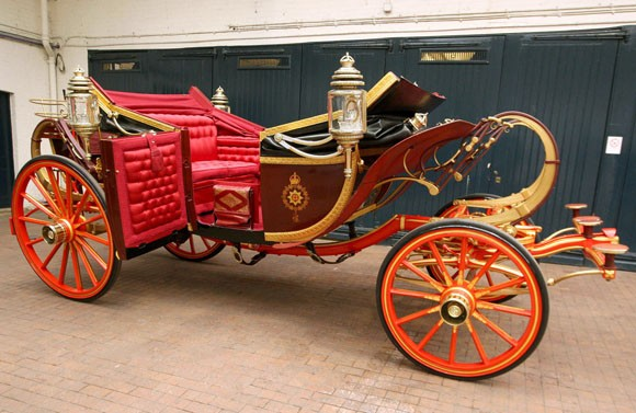 1902 State Landau carriage royal wedding
