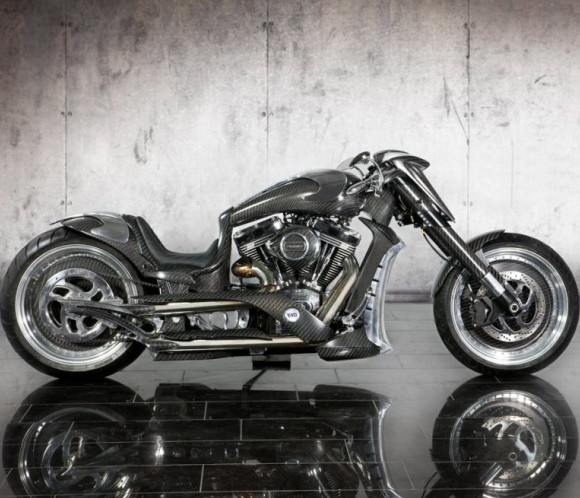The Bugatti of Motorbikes: Mansory Zapico Custom Carbon Fiber