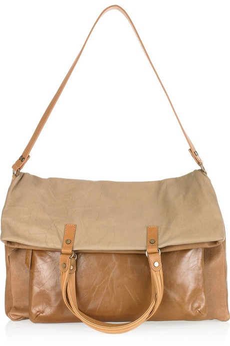 Lanvin Dear Danae Two-Tone Shoulder Bag