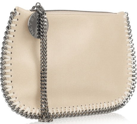 Stella McCartney Faux Leather Falabella Wristlet Handbag