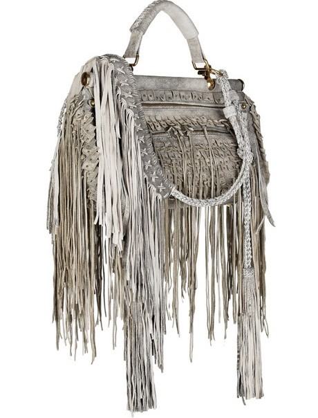 Roberto Cavalli Doctor Fringe Handbag