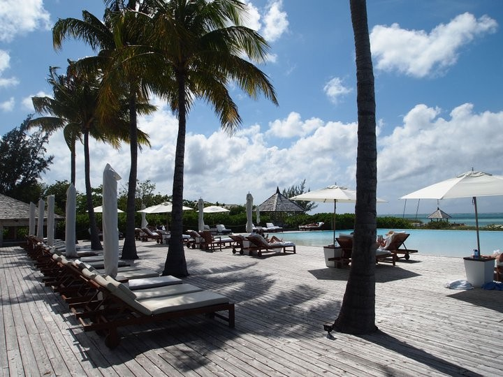 Main pool at Parrot Cay
