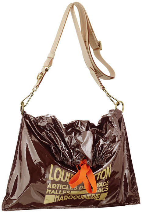 Louis Vuitton Raindrop Besace Trash Bag Purse, $1,996