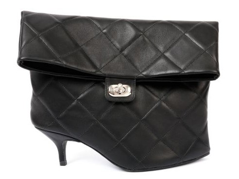 Azumi and David Leather Shoes Pouch, $411