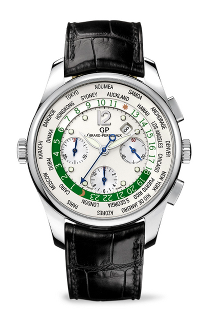 Girard-Perregaux ww.tc Chronograph for Green Auction watch