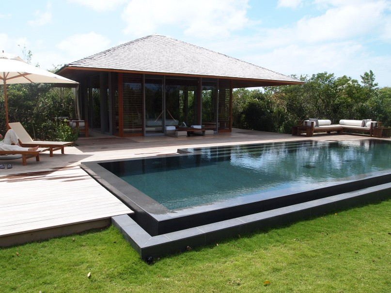 Amanyara pavilion with private infinity pool