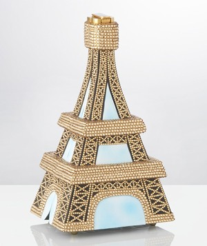 Timmy Woods Eiffel Tower Crystal Clutch, $4,714