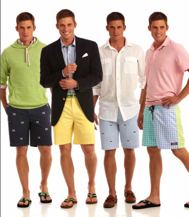 Vineyard Vines stylish resort wear