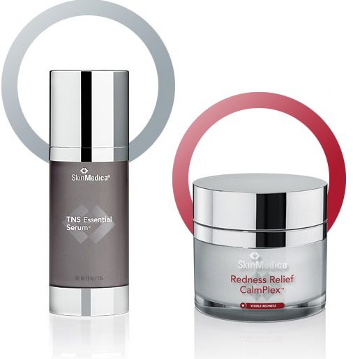 SkinMedica TNS Essential Serum and Redness Relief CalmPlex