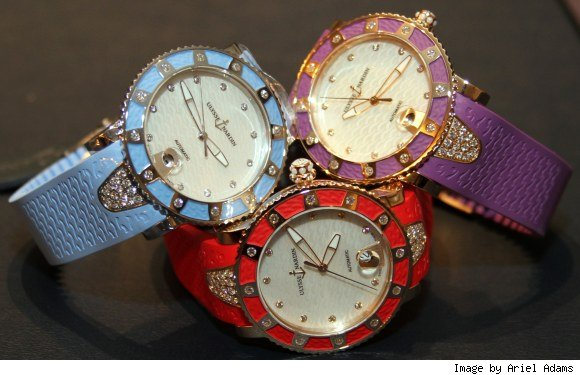 Ulysse Nardin Lady Diver Watch New Colors