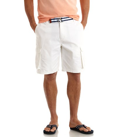 Vineyard Vines cargo shorts and grosgrain belt