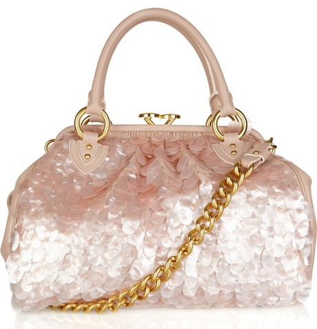Marc Jacobs Paillete Embellished Shoulder Bag