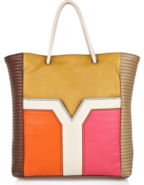Yves St Laurent Color Block Bag
