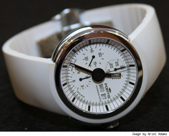 Fortis Spaceleader Volkswagen Design White Watch