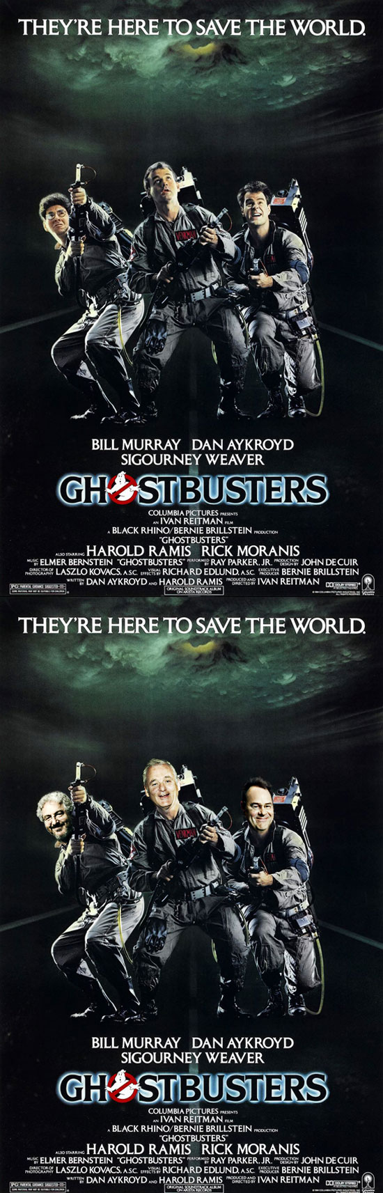 Funny photos, ghostbusters, before and after