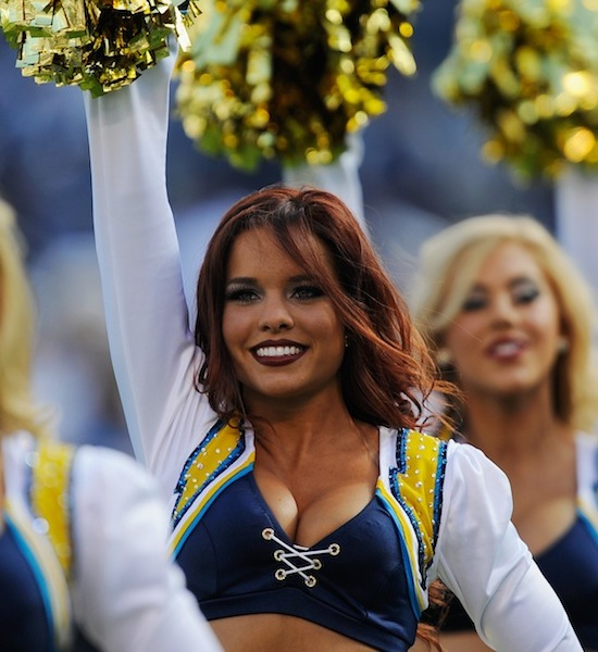San Diego Chargers Cheerleaders Photos