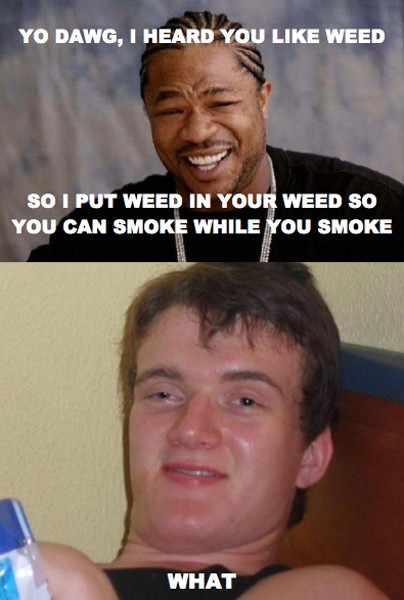 Hilarious Meme Gallery: Really High Guy