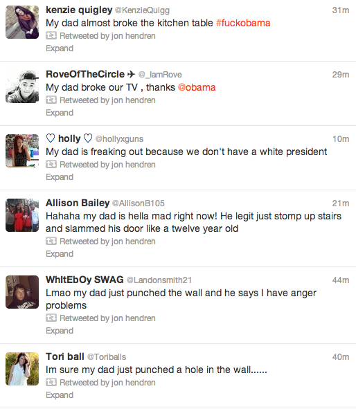 twitter, angry dads, presidential election