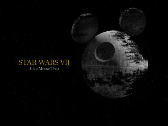 Disney, Star Wars, Disney Star Wars merger, funny meme, death star mouse trap