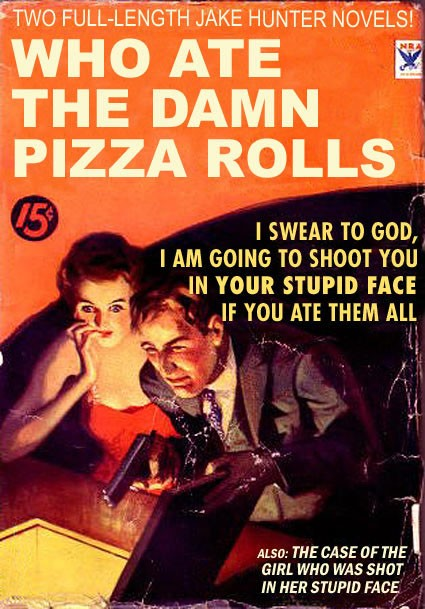 funny books, who are the damn pizza rolls