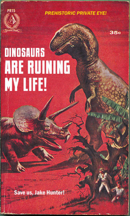 funny books, dinosaurs are ruining my life