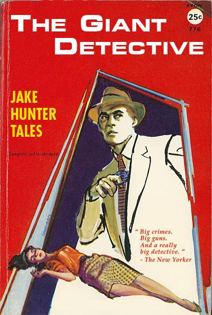 funny books, the giant detective