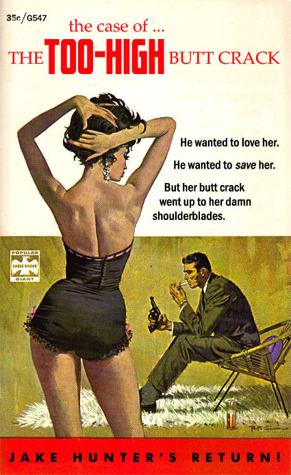 funny books, the case of the too-high butt crack