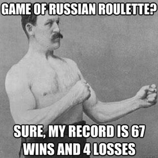Russian roulette 67