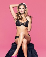 Bar refaeli, sexy photos bar refaeli in black lingerie
