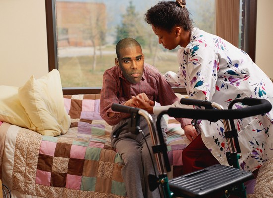 los angeles lakers hospice, antawn jamison