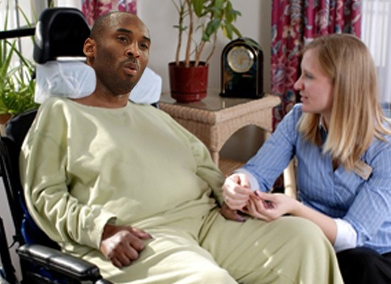 los angeles lakers hospice, kobe bryant