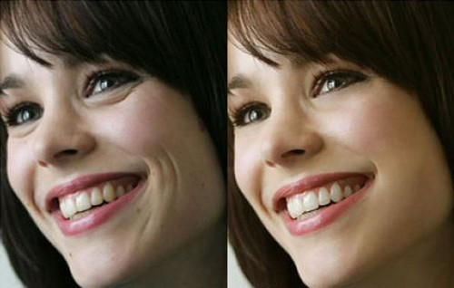 celebrities before and after photoshop, Rachel McAdams