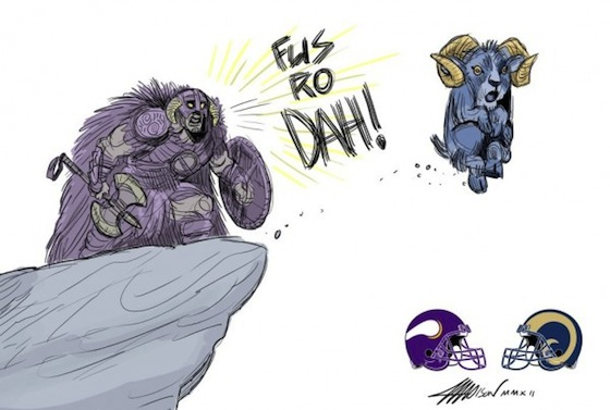 Minnesota Vikings, St. Louis Rams