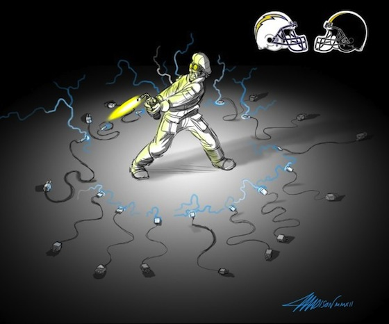 San Diego Chargers, Pittsburgh Steelers