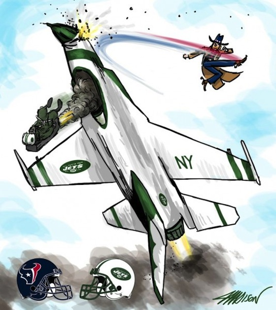 Houston Texans, New York Jets