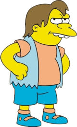 Nelson Muntz, The Simpsons