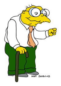 Hans Moleman, The Simpsons