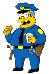 Chief Wiggum, The Simpsons